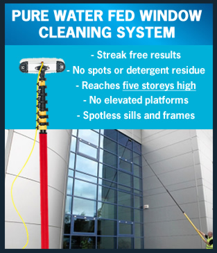 Swanbourne WIndow Cleaning Water Fed Pole System